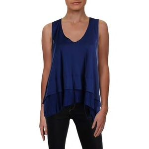 We The Free Women's Distressed V-Neck Tank